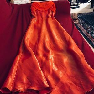 Long, Glowing Formal Dress